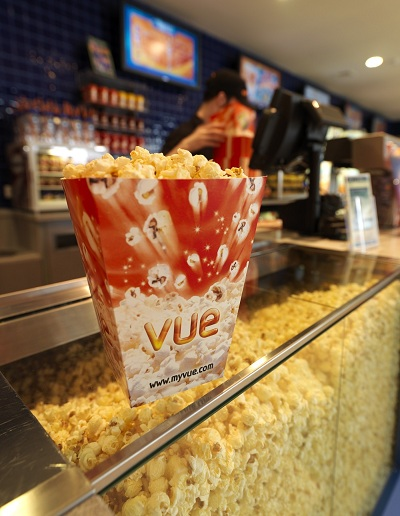 Popcorn At The Ready As Vue Renew Contract With Retail