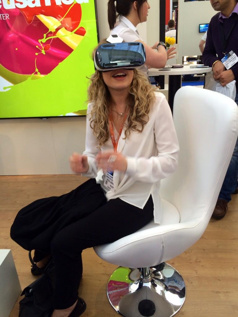 Rhianne Poole Samsung Oculus Rift RBTE