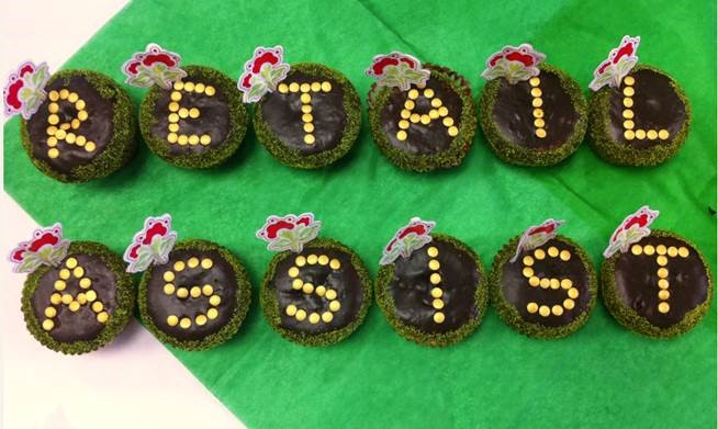 Retail Assist cupcakes