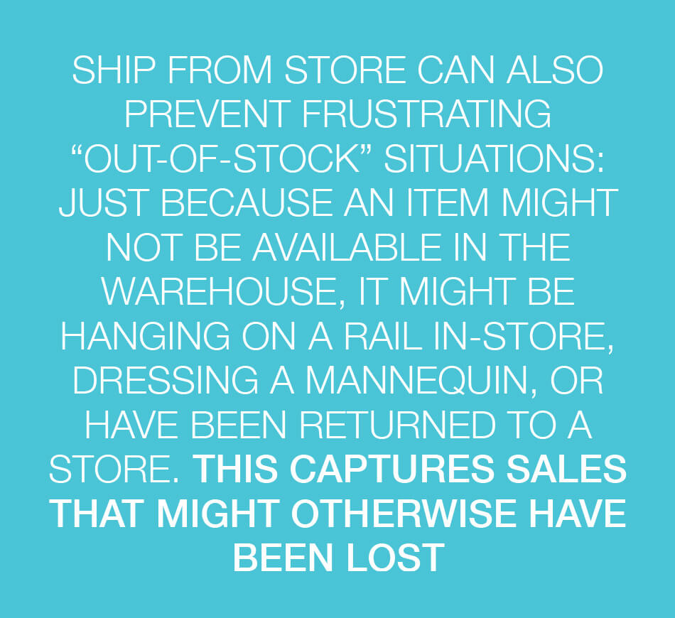 ship from store