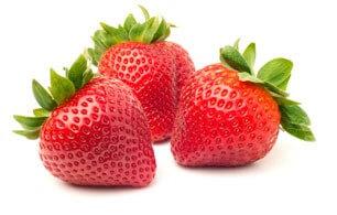 Strawberries in January