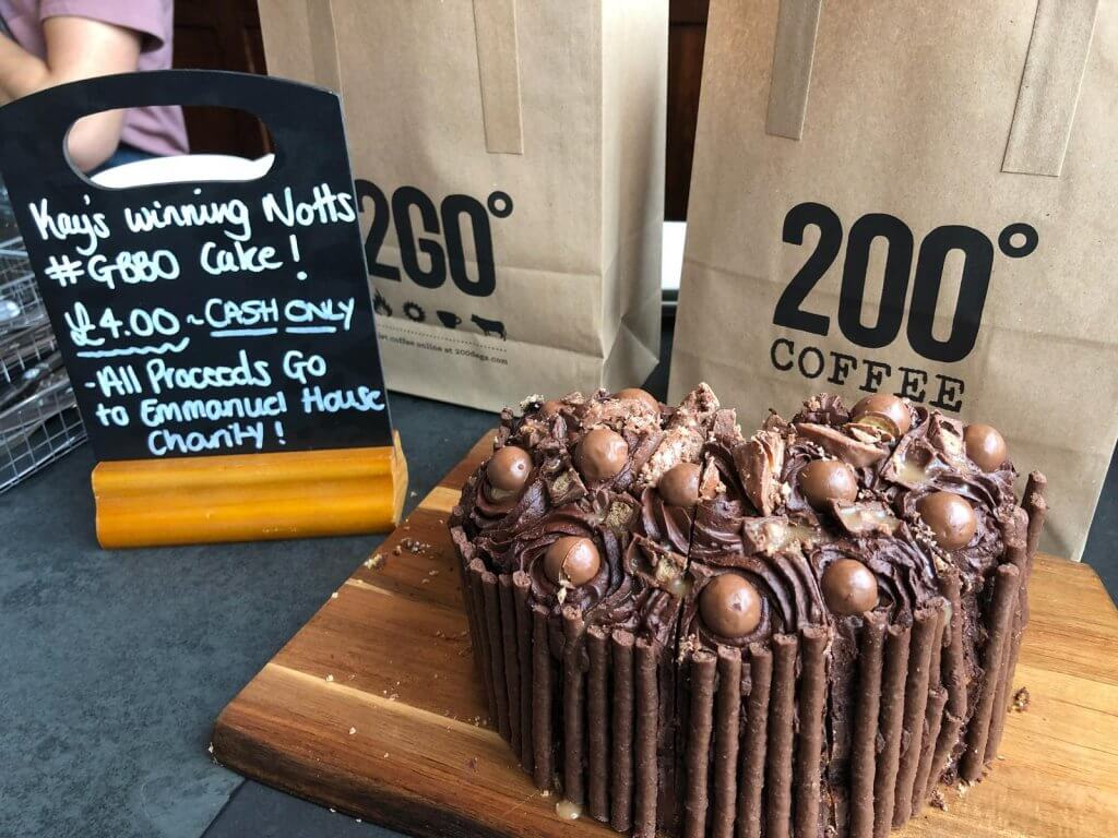 Great British Bake Off Retail Assist Cake