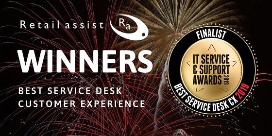 SDI Best Service Desk CX 2019 - Retail Assist