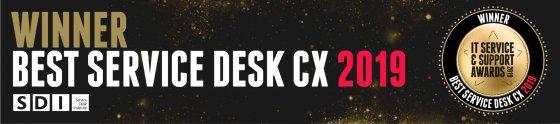SDI Awards 2019 - Winner Best Service Desk CX - Retail Assist