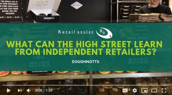 Doughnotts video - Retail Assist