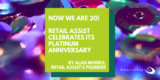 Retail Assist Celebrates Its Platinum Anniversary