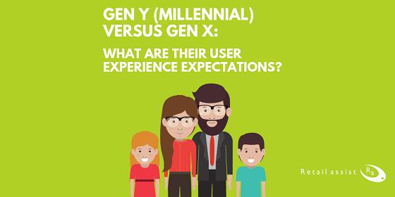 Gen Y Gen X Gen Y Gen X User Experience 2