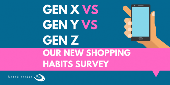Gen X vs Y vs Z Shopping Habits