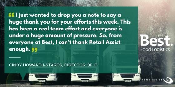 Retail Assist Support - Best Food Logistics