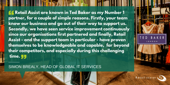 Retail Assist Support - Ted Baker