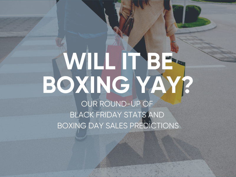 Black Friday and Boxing Day 2019 Sales Predictions
