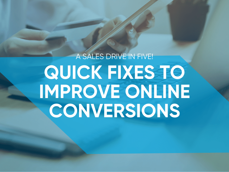 How To Improve Online Conversions