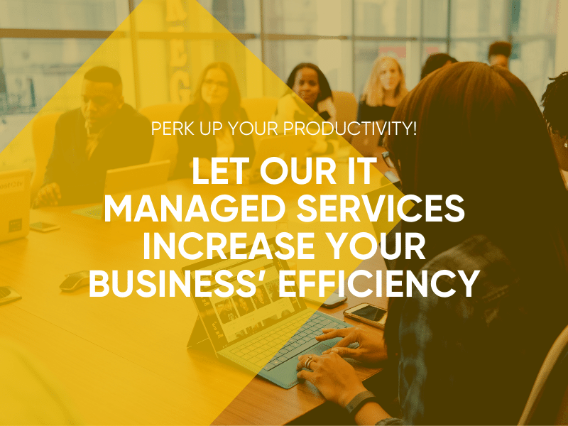 Let Our IT Managed Services Increase Your Business' Effiiciency