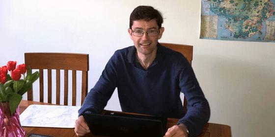 Working From Home Diaries - Matthew Proudlove
