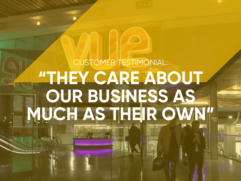 Vue Customer Testimonial