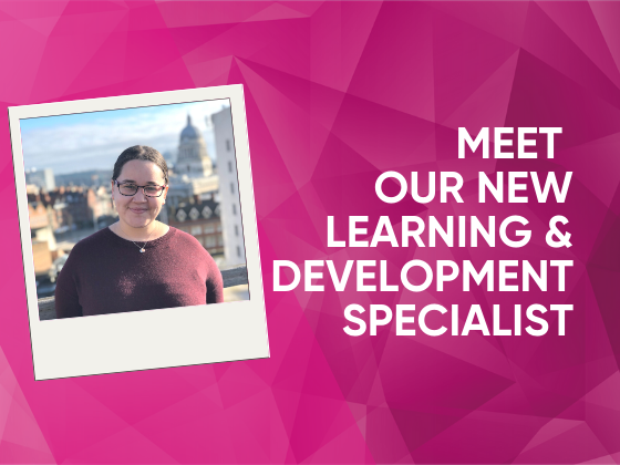 Meet Our New Learning & Development Specialist