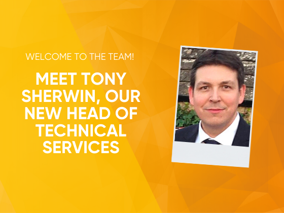 Welcome to the Team! Meet Tony Sherwin, Our New Head of Technical Services