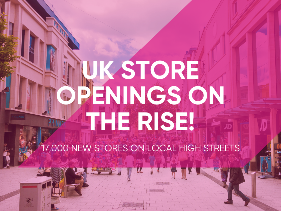 UK Store Openings on the Rise!