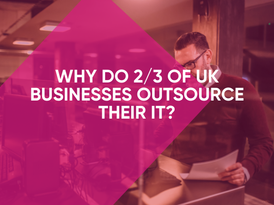 why do business outsource their IT